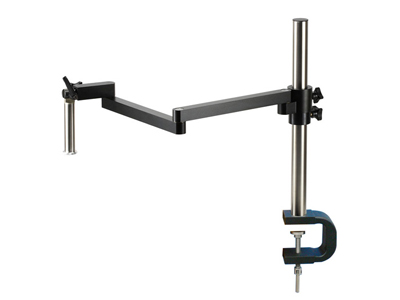 Clamp Type Stereo Microscope Boom Stand W/ Flexible Arm