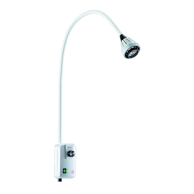 Gooseneck 9W LED Examination Lamp with Table/Wall Mount